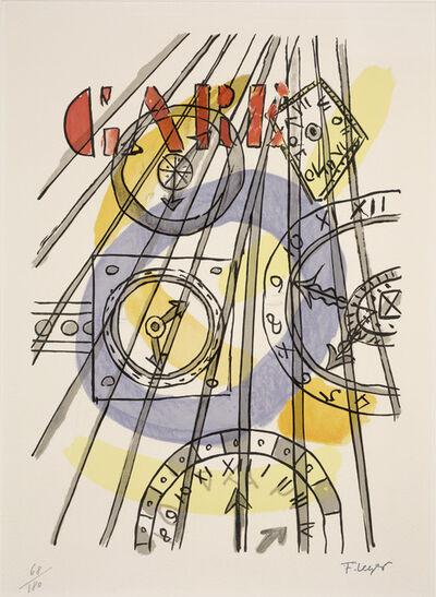 Fernand Léger, 'Clocks'