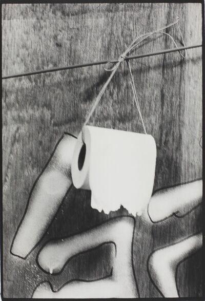 Kazuo Kitai, 'Toilet Paper, Nihon University, College of Art (Barricade series)', 1968