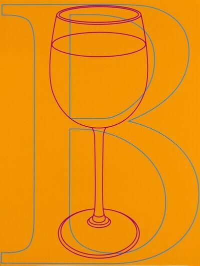Michael Craig-Martin, 'B (from Alphabet)', 2007