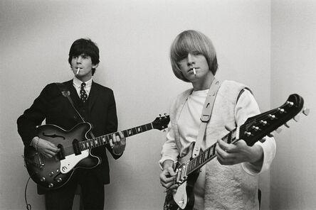 Bent Rej, 'Keith & Brian Backstage, Germany, 1965', 1965