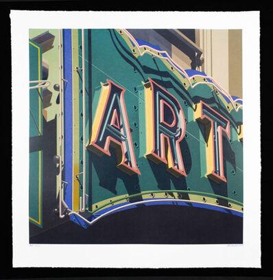 Robert Cottingham, 'Art, from American Signs Portfolio', 2009