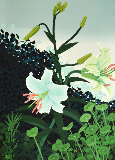 Asako Iwasawa, 'Memories of Brooklyn Botanic Garden', 2018