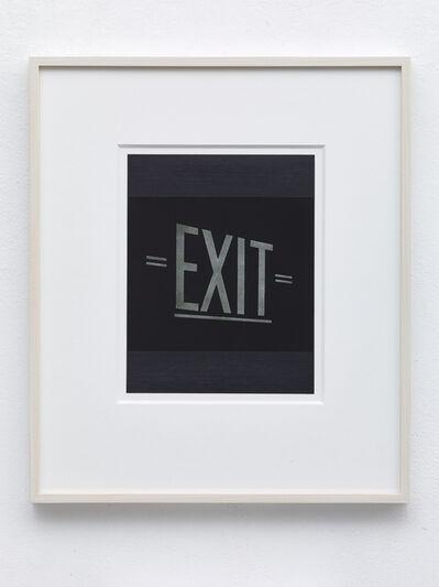 Frank Gerritz, 'Exit', 2016