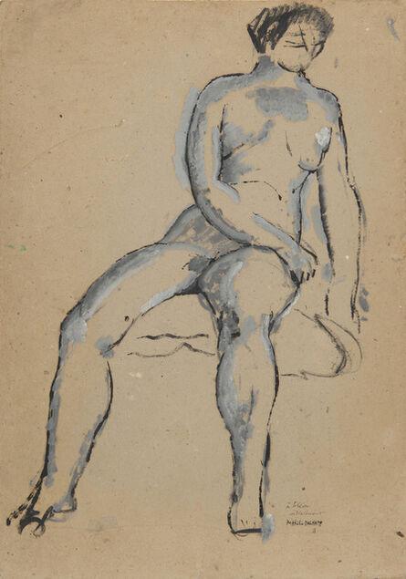 Marcel Duchamp, 'Nu assis', 1910
