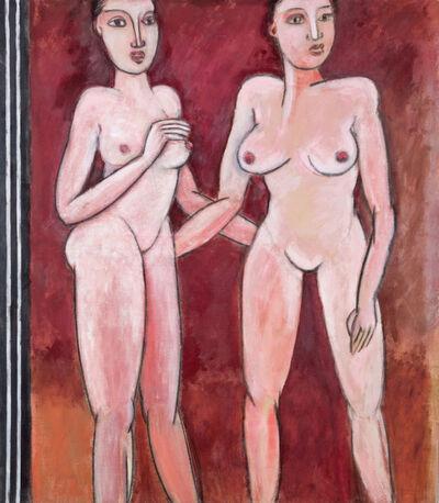 Grégoire Müller, 'Two Friends', 1978