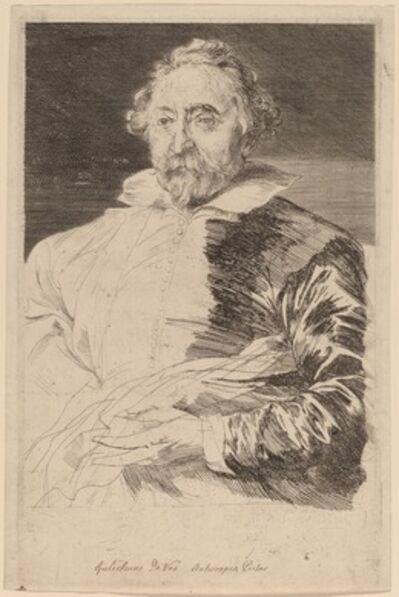 Sir Anthony van Dyck and Schelte Adams Bolswert, 'Willem de Vos', probably 1626/1641