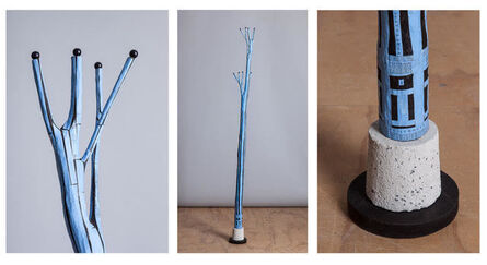 Linda Brenner, 'Christmas Tree #13: BLUE SMOKE', 2011-2017