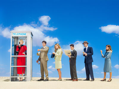 Tyler Shields, 'Phonebooth', 2021