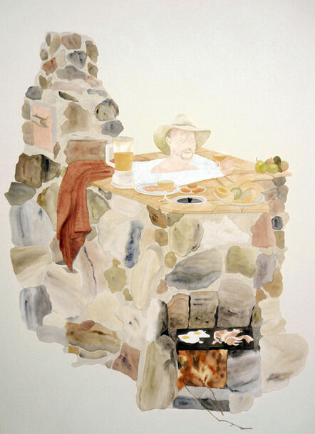Helen Johnson, 'The Aussie Barbecue Japanese Hot Tub Chinese Oven (we're all in hot water now)', 2009