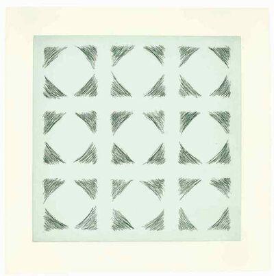 Kim Lim, 'Green Etching', 1969