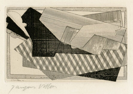 Jacques Villon, 'Le Cheval', 1921