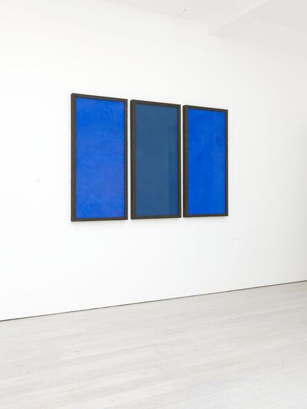 David Nash, 'Three Blues', 2014