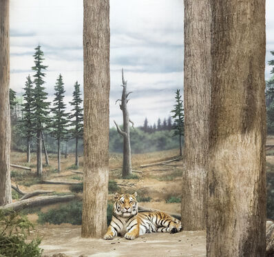 Eric Pillot, 'Tiger and Forest', 2015