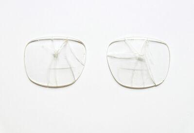 Ignasi Aballí, 'Attempt of Reconstruction (Glasses)', 2016