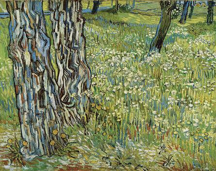 Vincent van Gogh, 'Pine Trees and Dandelions in the Garden of Saint-Paul Hospital', 1890