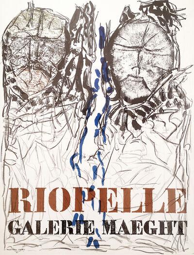 Jean-Paul Riopelle, 'Galerie Maeght II Poster', 1974