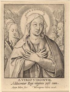 Antonie Wierix, 'S. Virgo Virginum'