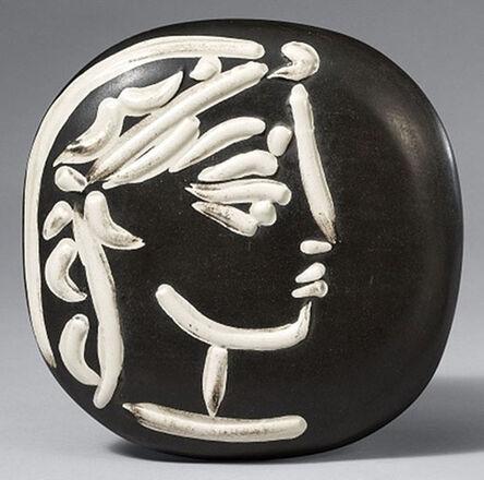 Pablo Picasso, 'Profil de Jacqueline (Jacqueline's Profile), 1956', 1956