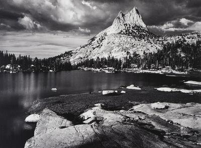 Ansel Adams, 'Cathedral Peak and Lake', 1938