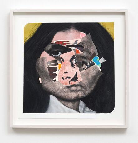 Nathaniel Mary Quinn, 'Little Sister', 2016