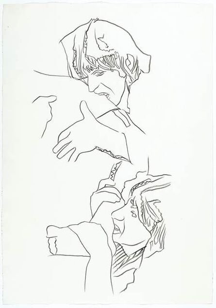 Andy Warhol, 'Rolling Stones – Love you Live (Keith Richards and Ron Wood)', ca. 1975