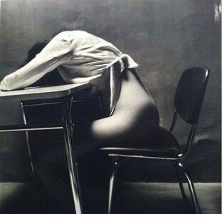 Guy Bourdin, 'Nude Story in Dark Room - Asleep', 1971
