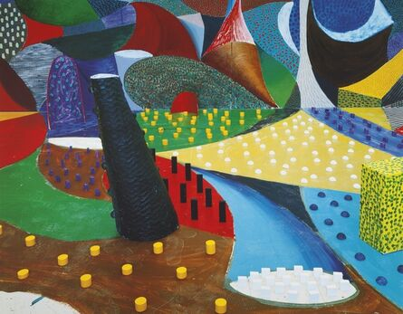 David Hockney, 'Second Detail March 25th, 1995', 1995