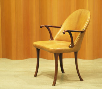 Frits Henningsen, 'Curved armchair', Designed 1936