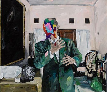Iqi Qoror, 'Odd Pose in Livingroom', 2018