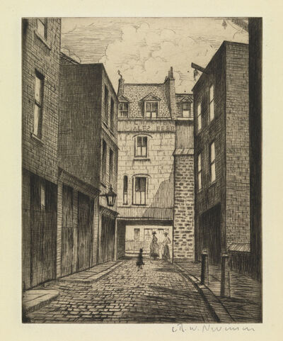 Christopher Richard Wynne Nevinson, 'Manette Street', 1926/27