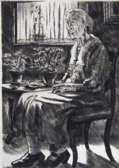 Peggy Bacon, 'Very Refined', 1945