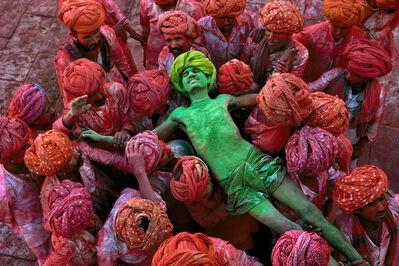 Steve McCurry, 'Holi Man, Rajasthan, India', 1996