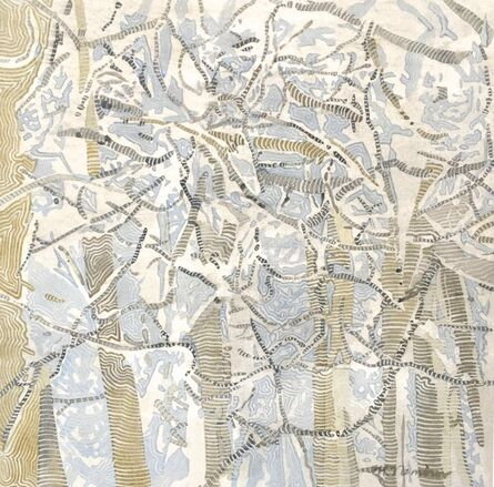 Meredith Nemirov, 'Snowy Aspen', 2017