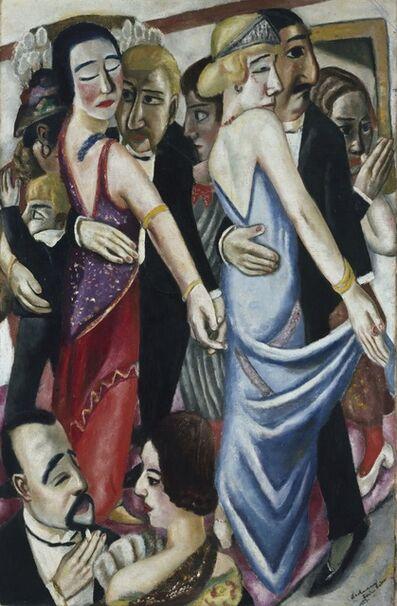 Max Beckmann, 'Dance Club in Baden-Baden', 1923