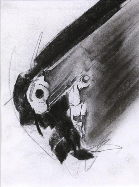 Robert Longo, 'Gun D-337 (study)', 1993