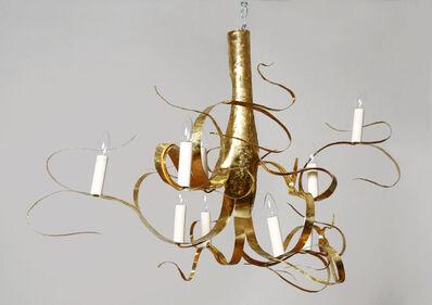 "Jacques Jarrige, '""Fiori"" Brass Chandelier', 2013"