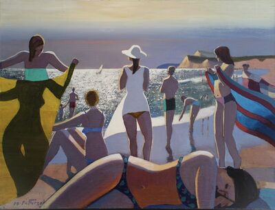 Michael Patterson, 'Silver and Blue, Montauk', 2021