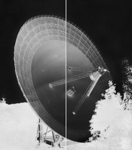 Vera Lutter, 'Radio Telescope, Effelsberg, XV: September 12, 2013', 2013