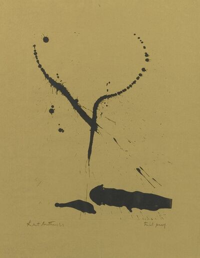 Robert Motherwell, 'A Throw of the Dice #2 and Untitled (Walker Art Center 10 & 58)', 1963 & 1968