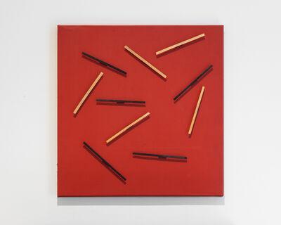 Grazia Varisco, 'Tavola magnetica a elementi lineare 5 B 5N', 1959