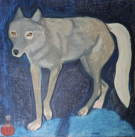 Suzy O'Mullane, 'Snowy The Wolf ', 2021