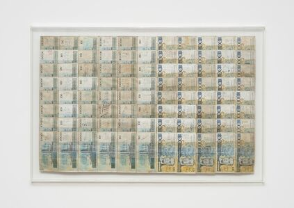Jac Leirner, 'Numbers From The Blue Phase', 1995