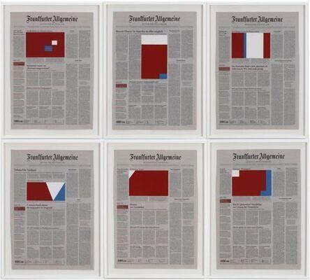 Marine Hugonnier, 'Art For Modern Architecture FA (Homage to Ellsworth Kelly)', 2008