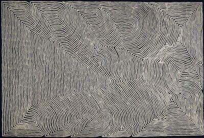 Ronnie Tjampitjinpa, 'Tingari and Rain', 2015