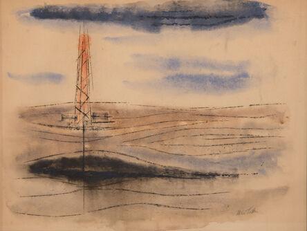 McKie Trotter, 'Southwestscape', 1959