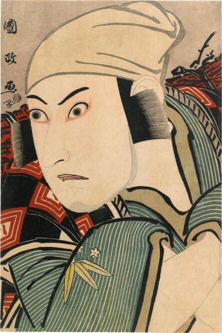 Utagawa Kunimasa, 'Ichikawa Yaozo III as a Bandit, Actually Mita no Jiro Tomotsuna', ca. 1796