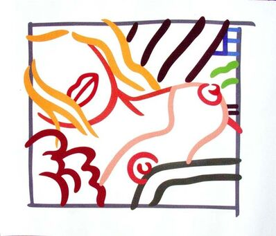 Tom Wesselmann, 'New Bedroom Blonde Doodle', 1991