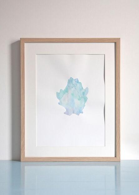 Stella Sujin, 'Organisme bleu clair', 2016