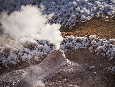 Peter Vanderwarker, 'My Tiny Volcano near Norris Basin', 2017