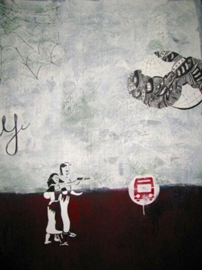 Danny Zavaleta, 'Paisaje 1⁄4 1, Version de una ciudad', 2012